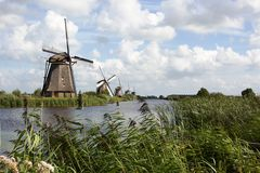Kinderdijk Royalty Free Stock Images