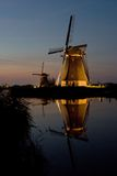 Kinderdijk Stock Photography