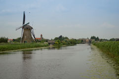 Kinderdijk Стоковое Фото