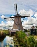 Kinderdijk Fotografía de archivo libre de regalías