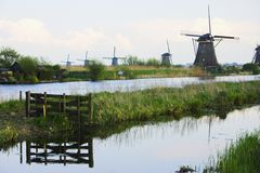 Kinderdijk Royalty Free Stock Photos
