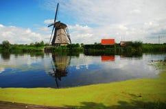 Kinderdijk, die Niederlande Lizenzfreie Stockfotografie