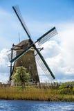 Kinderdijk, Holandia Zdjęcia Stock