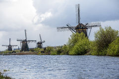 Kinderdijk, Holandia Zdjęcie Stock