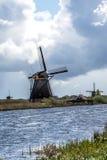 Kinderdijk, Holandia Zdjęcia Royalty Free