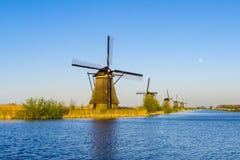 Kinderdijk, holandie Obraz Stock