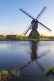 Kinderdijk, holandie Obrazy Royalty Free
