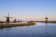 Kinderdijk, holandie Zdjęcie Royalty Free
