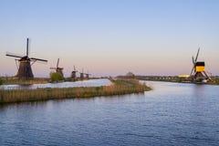 Kinderdijk, holandie Obraz Royalty Free