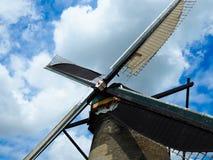 Kinderdijk holandie 2015 Wiatraczek przy Kinderdijk Fotografia Royalty Free