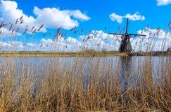 Kinderdijk - les Pays-Bas Images libres de droits