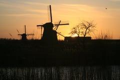 Kinderdijk, Netherlands Royalty Free Stock Images
