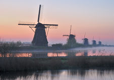 Kinderdijk,Netherlands,Benelux Royalty Free Stock Images