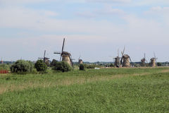 Kinderdijk, the Netherlands Royalty Free Stock Photos