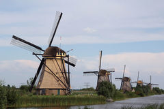 Kinderdijk, the Netherlands Royalty Free Stock Photography