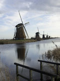 Kinderdijk Royalty Free Stock Photography
