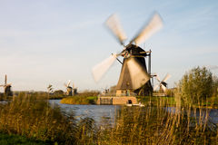 Kinderdijk Royalty Free Stock Image