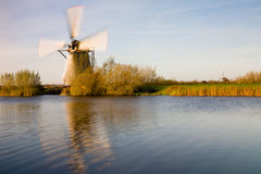 Kinderdijk Stock Photo