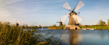 Kinderdijk Stock Photography