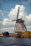 Kinderdijk Windmill in Autumn Royalty Free Stock Images