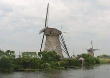 Kinderdjik, Paesi Bassi fotografia stock libera da diritti