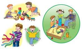 Kinderen stock fotografie
