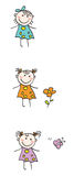 Kinderen vector illustratie