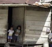 Kinderen in Armoede - Belize stock afbeeldingen