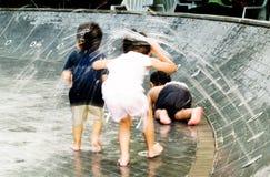 Kinderen bij Spel Royalty-vrije Stock Afbeelding