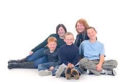 Kinderen, broers en zusters Stock Foto