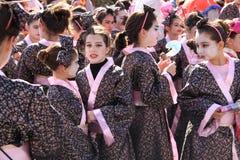 Kinderen. Carnaval in Cyprus Royalty-vrije Stock Afbeelding