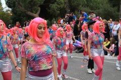 Kinderen. Carnaval in Cyprus. Royalty-vrije Stock Afbeeldingen