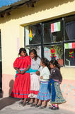 Kinderen in de siërra van tarahumara mexico Stock Foto's