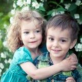 Kinderen die pret hebben stock foto's