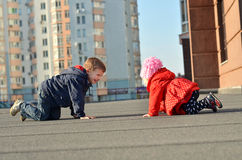 Kinderen die pret hebben Royalty-vrije Stock Fotografie