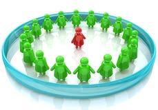 Kinderen in een cirkel Stock Foto