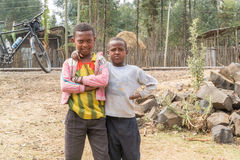 Kinderen in Ethiopië Stock Fotografie