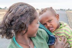 Kinderen in Ethiopië Stock Foto's