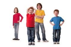 Kinderen everywere Royalty-vrije Stock Afbeelding