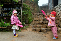 Kinderen het Spelen Stock Fotografie