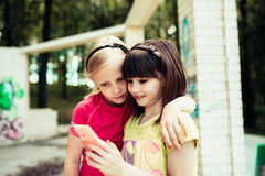 Kinderen, hout royalty-vrije stock foto
