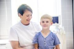 Kinderen medische kliniek Stock Fotografie