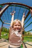 Kinderen op de speelplaats Royalty-vrije Stock Afbeelding