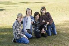 Kinderen in park Royalty-vrije Stock Foto