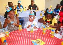 Kinderen` s Dag, een succes Royalty-vrije Stock Afbeelding