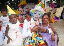 Kinderen` s Dag, een succes Stock Foto's