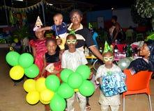 Kinderen` s Dag, een succes Royalty-vrije Stock Foto