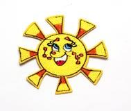 Kinderen` s gekleurde stickers voor de stof Royalty-vrije Stock Afbeeldingen