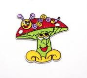 Kinderen` s gekleurde stickers voor de stof Stock Afbeeldingen