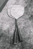 Kinderen` s rackets stock foto's